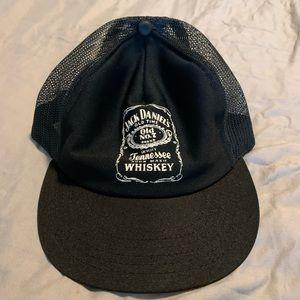 Vintage Jack Daniels Whiskey Trucker Hat